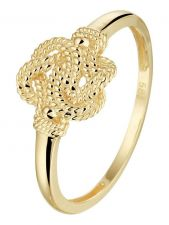 Treasure Collection TC-52974 14 karaat gouden ring Surinaamse mattenklopper 9 mm
