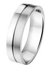 Treasure Collection TC-44499 Stalen herenring 5,5 mm